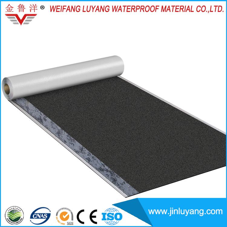 China Supply Self Adhesive Sbs Modified Bitumen Waterproof Roofing Membrane