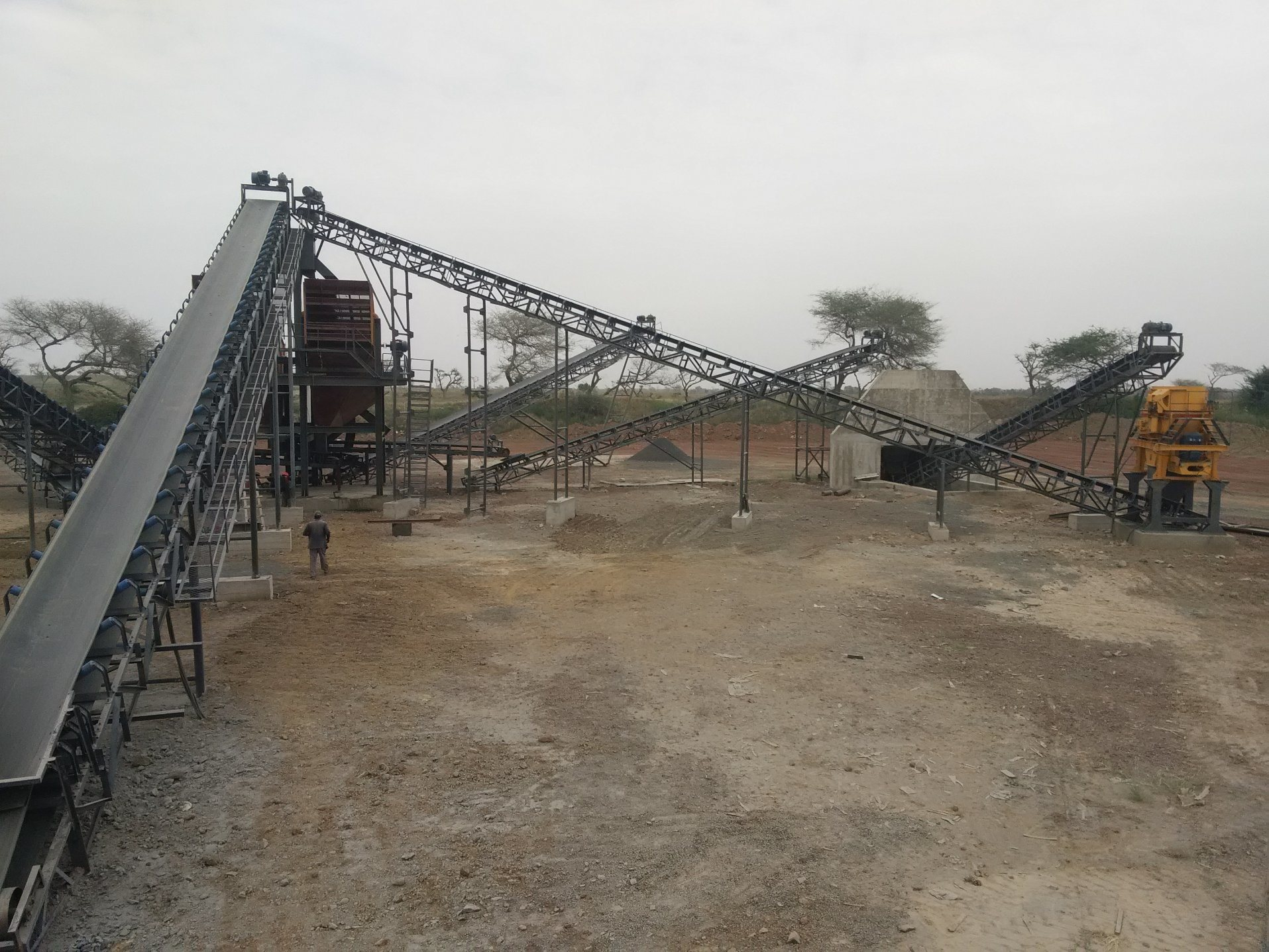 Basalt Stone Crushing Plant and Sand Making Production Line
