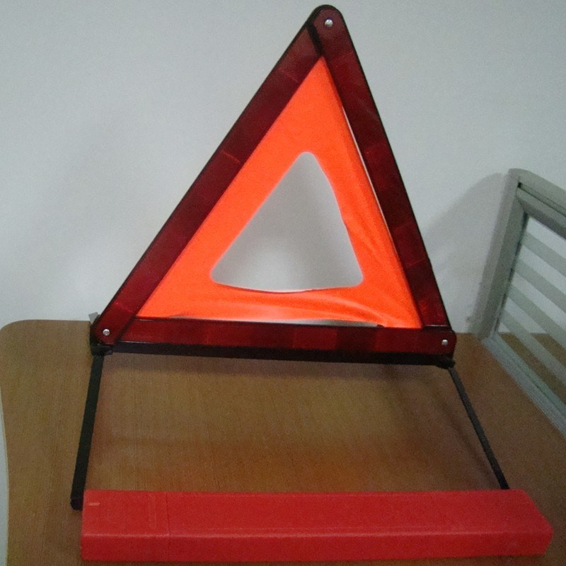 European Standard ECE R27 Traffic Safety Reflector Warning Triangle with Emark (HX-D7)