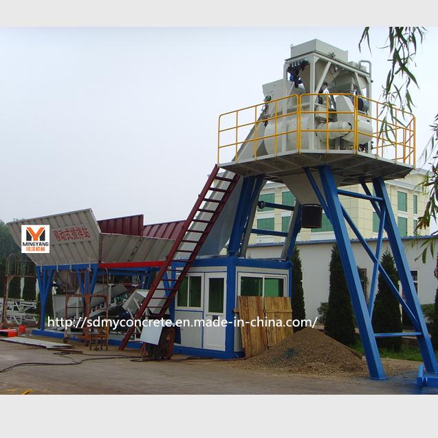 60m3/H Automatic Concrete Batching Plant / Concrete Mixing Plant
