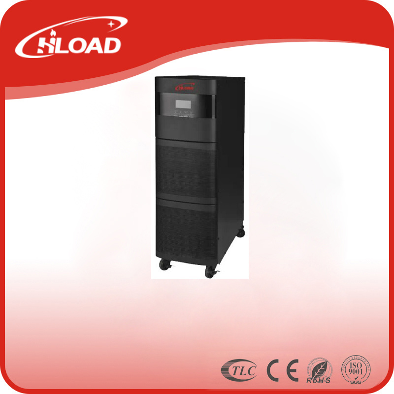 LCD Display Three Phase High Frequency 1kVA Online Inverter UPS
