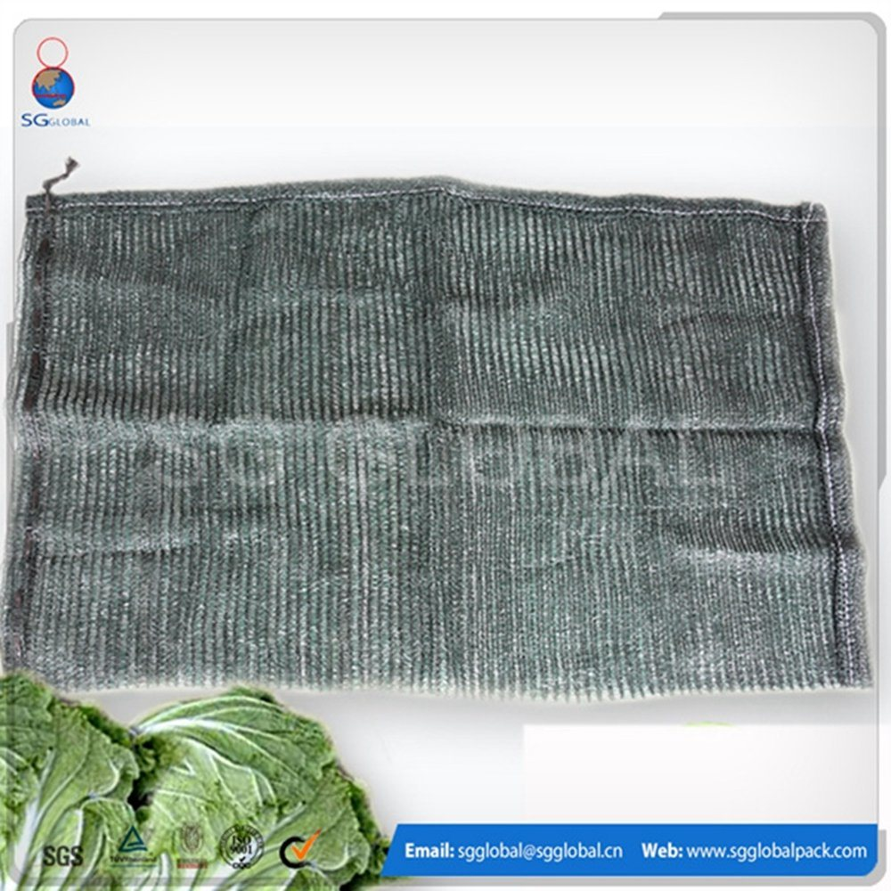 Packaging Vegetable PP L-Sewing Leno Mesh Bag