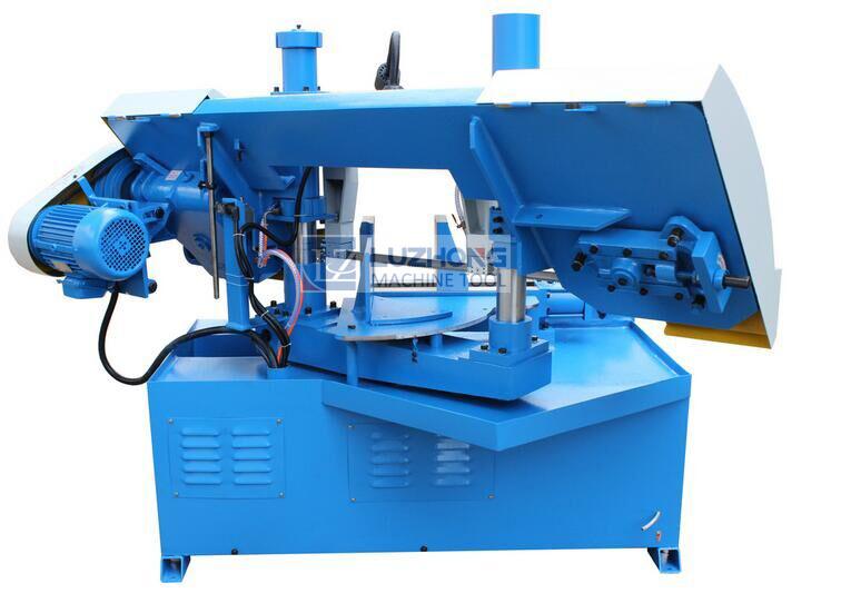 Horizontal Metal Cutting Band Saw Machine GHz4240 Double Column Sawing Machine