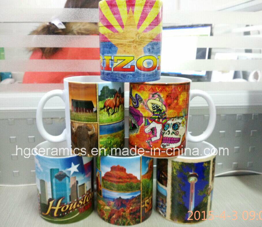 11oz Sublimation White Mug, 11oz Phono Mug
