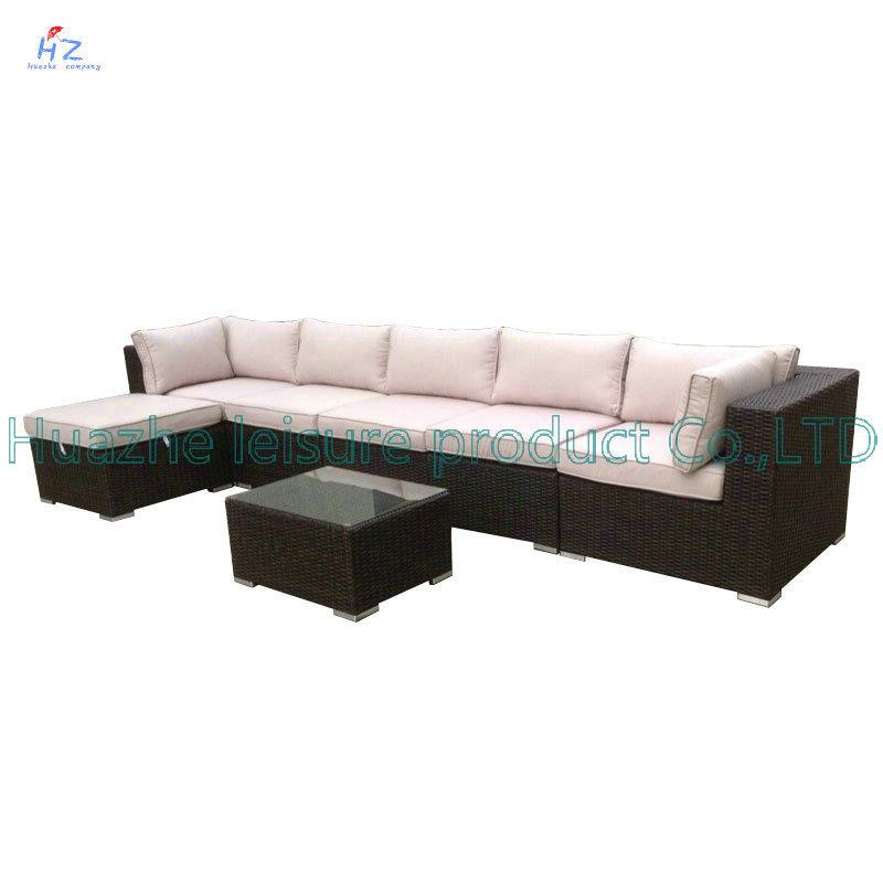 Wicker Sofa Outdoor Rattan Furniture Chair Table Wicker Furniture Rattan Furniture for Outdoor Furniture