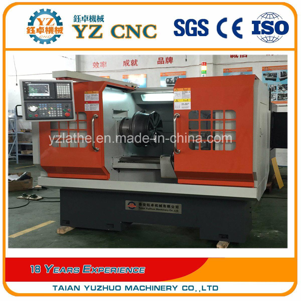 High Precision Alloy Wheel Repair CNC Lathe Machine Wrc26