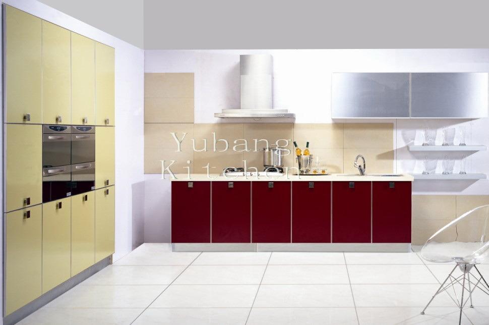Gabinete de cocina cocido al horno de la pintura m l63 for Pintura para puertas de cocina
