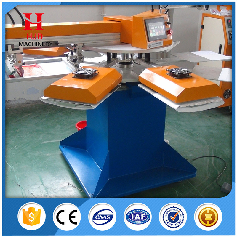 2 Color Automatic T-Shirt Silk Screen Printing Machine