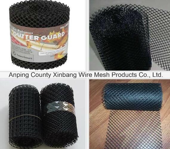 China Plastic Gutter Guard Mesh