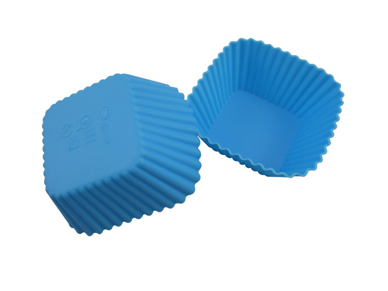 Heat Resistance Silicone Bakeware, Silicone Cup Cake Baking Pan