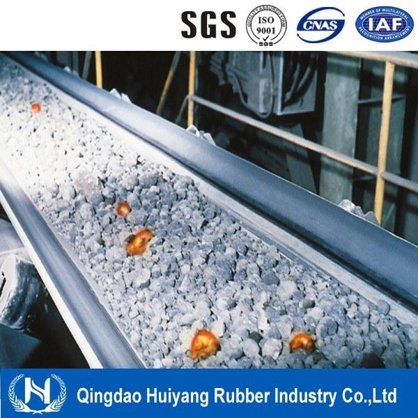 EPDM Rubber Cover Heat Resistant Conveyor Belt