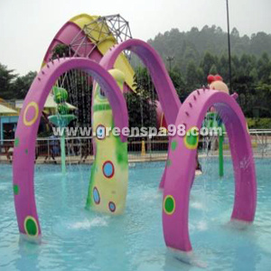 Arched Door, Aqua Play Spray for Water Park.