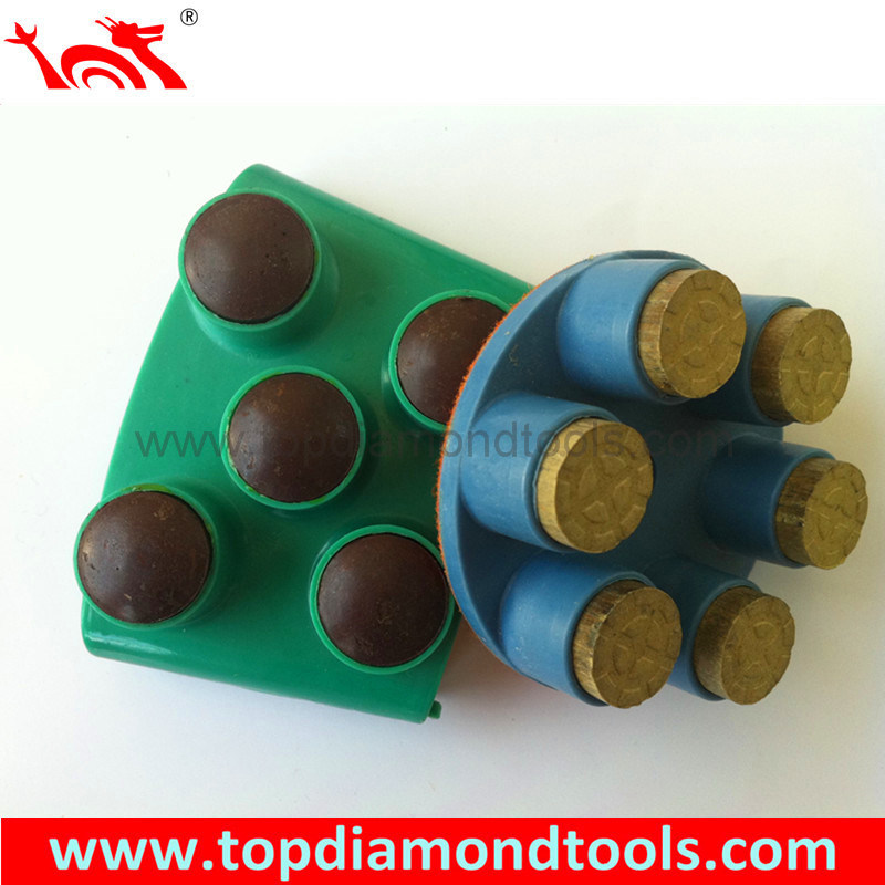 High Gloss Bullet Polishing Pads for Concrete Flooring
