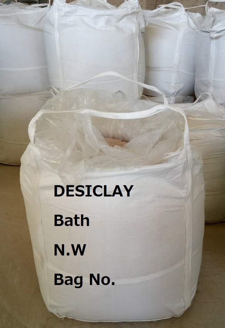 High Moisture Absorber Bentonite Desiccant