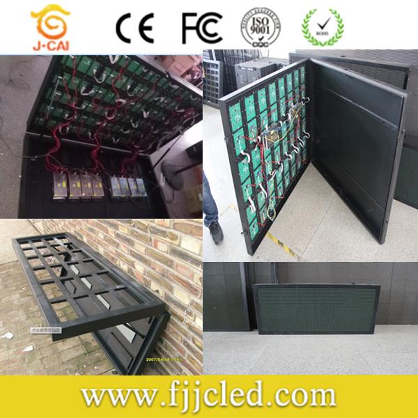 New LED Screen Front Open Door Outdoor P10 LED Display
