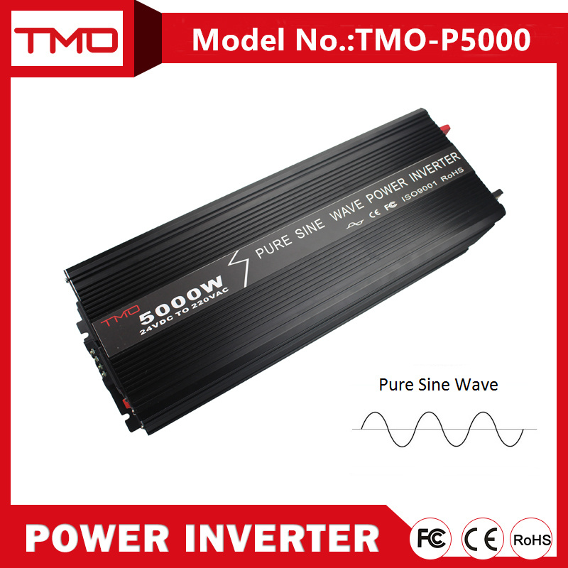 12/24/48 Volts 5000 Watts Pure Sine Wave Electric Power Inverter