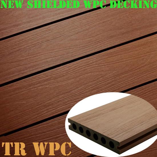 Durable Wood Plastic Composite Decking