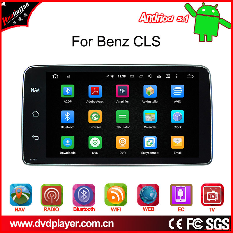 Cheap DVD Player for Benz Cls Android 7.1 Phone Connections Car Stereo WiFi Connection OBD DAB+