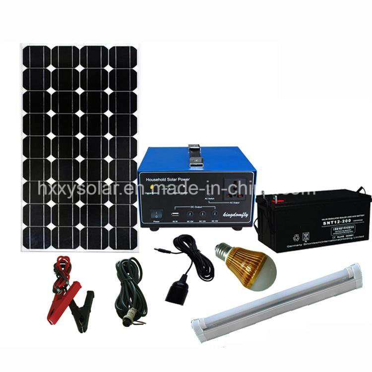 Hot Sell Solar Home Appliance 600W off-Grid PV Power System