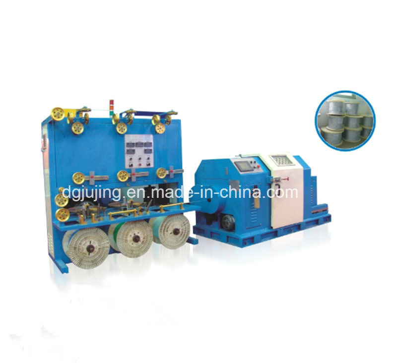500p Horizontal Cantilever Cable Single Standing Twisting Machine for High Frequence Cable
