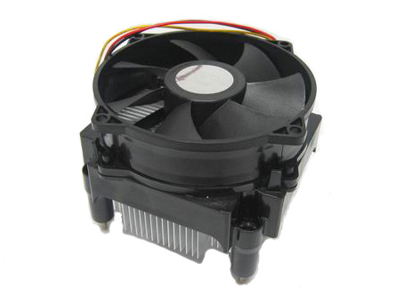Aluminum Heatsink Active Cooling Fan CPU Cooler