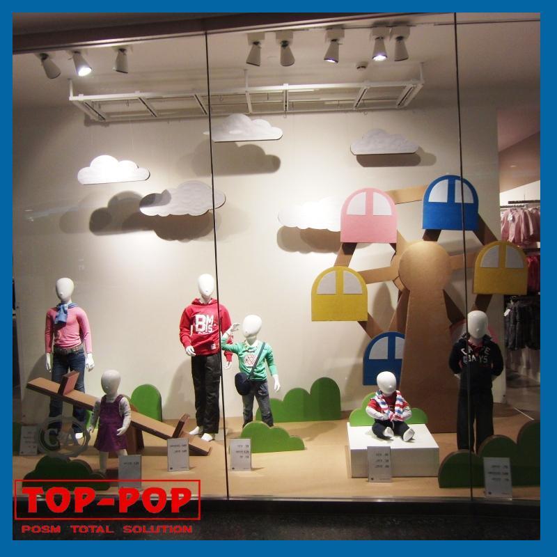 china clothes shop window display china window display. Black Bedroom Furniture Sets. Home Design Ideas