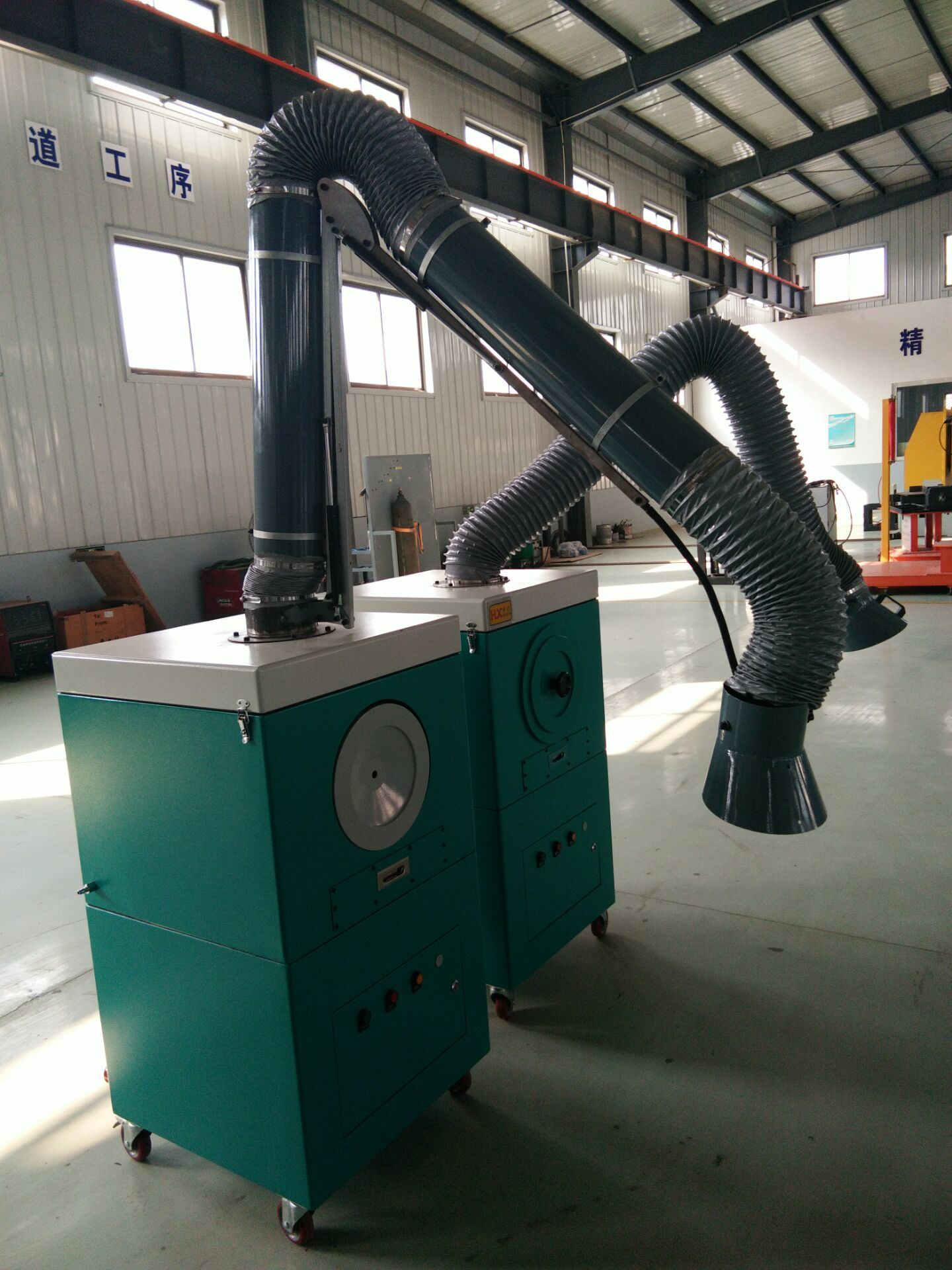 Self Cleaning Portable Fume Extractor/Portable Welding Collector/Welding Dust Collection