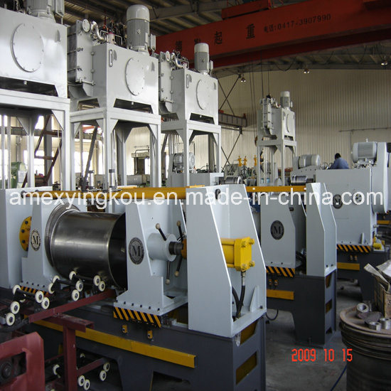 Steel Drum Making Machine Flanging Machine 8PCS/Min