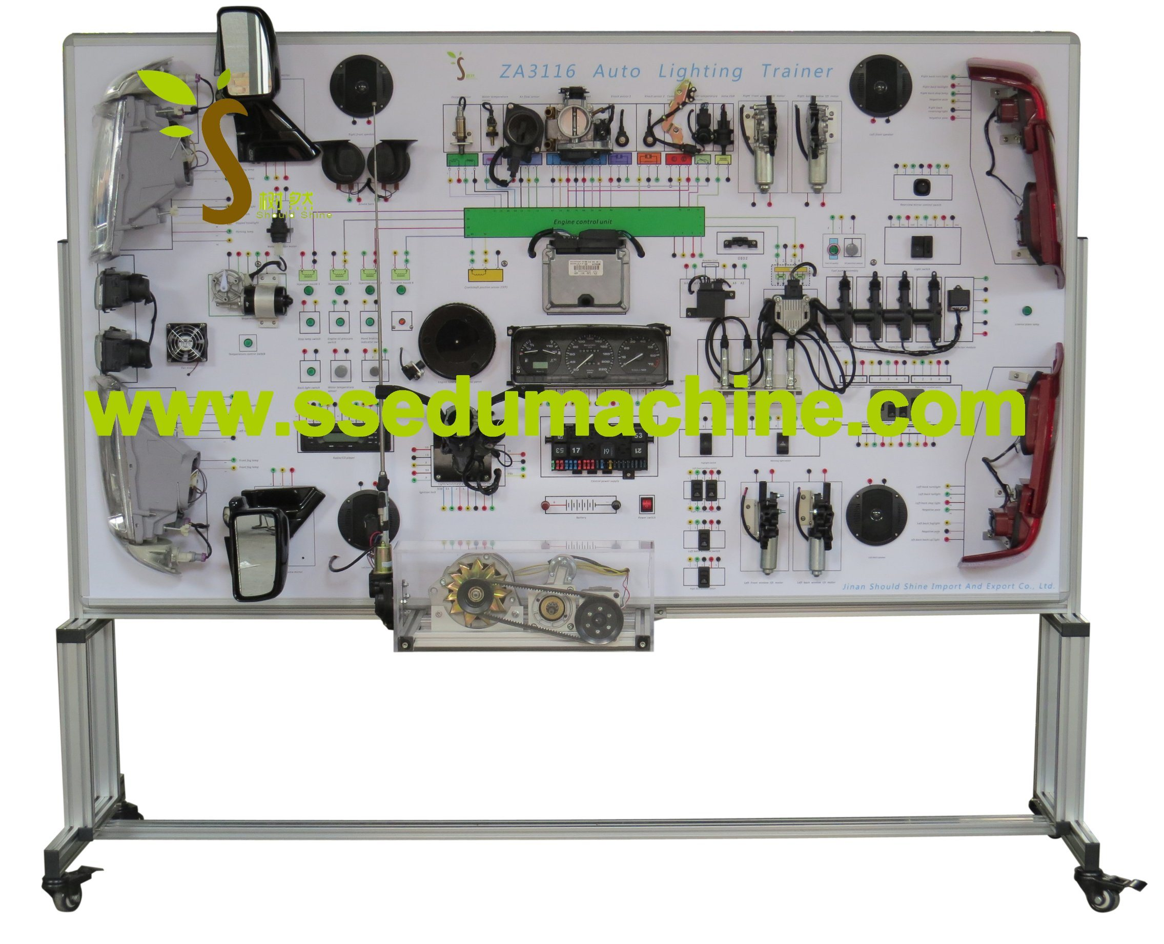 Santana Electric Teaching Board Education Equipment Automotive Training Equipment