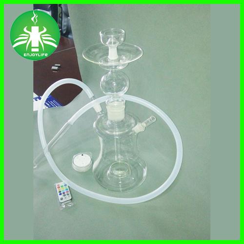 Russian LED Hookah Glass Smoking Water Hookahs E Hookan