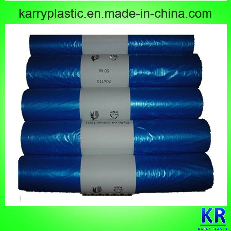 HDPE/LDPE Plastic Refuse Sack, Garbage Bag, Trash Bags