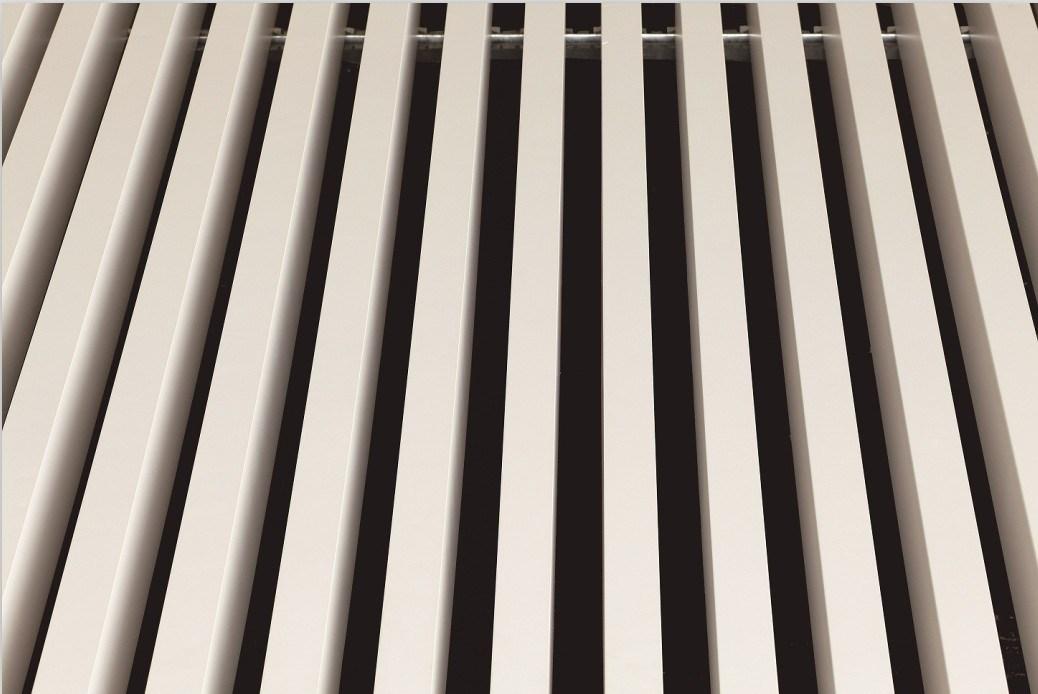 Aluminum White Square Groove Panels Ceiling