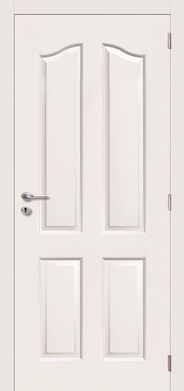 4 Panel Hollow Core White Primed Molded Door