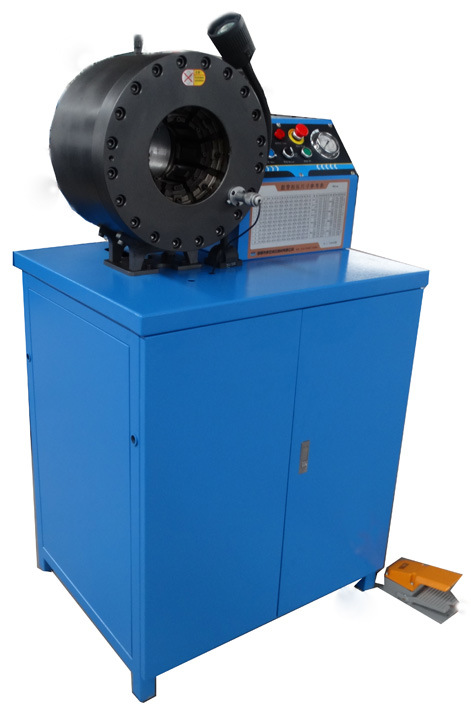 "Hydraulic Hose Crimping Machine Km-91m Available for 3"" Hose"