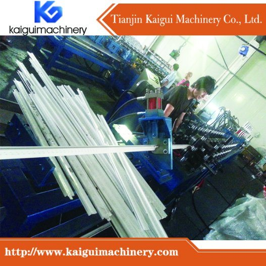 Ceiling T Bar Roll Forming Machine Rear Factory