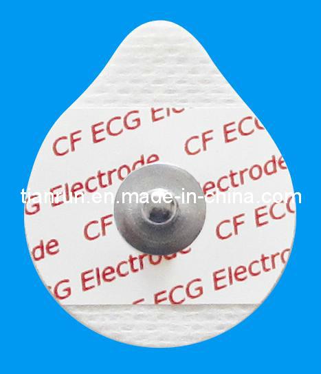 Disposable ECG Monitoring Electrode, Non-Woven Backing, 30*36mm
