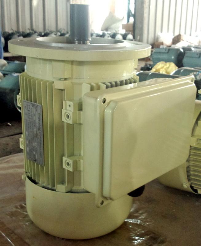 Single Phase AC Motor (Flange mount, aluminum housing, 0.12- 7.5kW)