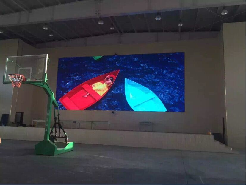 P5mm Interior Wall Attaching Style Video LED Screen