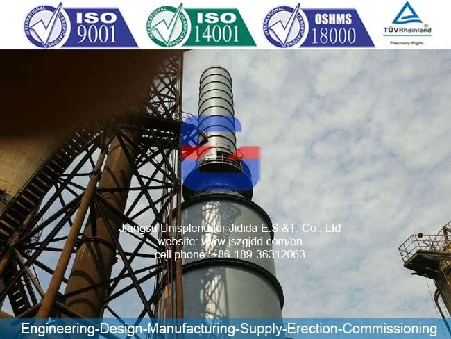 Fgd2X33 Flue Gas Desulfurization for Steel Company Sinter Plant
