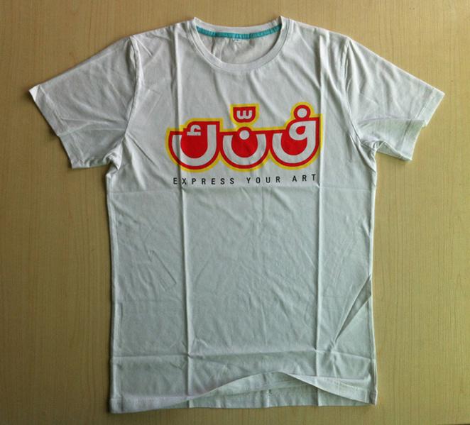 China Silk Screen Print T Shirt Fashion T Shirt Custom T