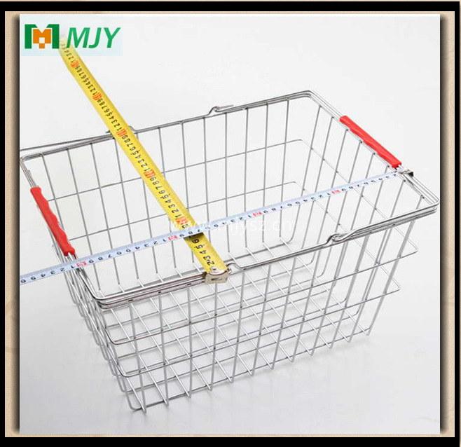Wire Shopping Basket Mjy-Ts02