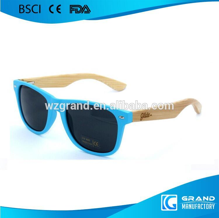 Fake Wooden Sunglasses Plastic Frame Wooden Effect Sunglasses