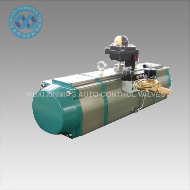 Better Quality Super Fast Speed Pneumatic Actuator (CE)