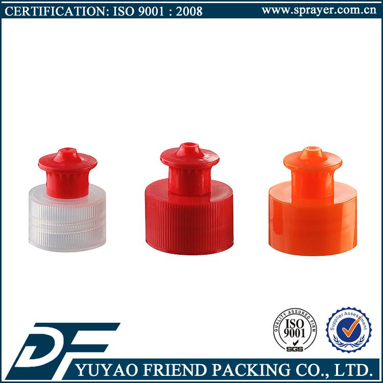 24/410 28/410 Plastic Push Pull Cap, Plastic Pull Cap, Sharp Cap