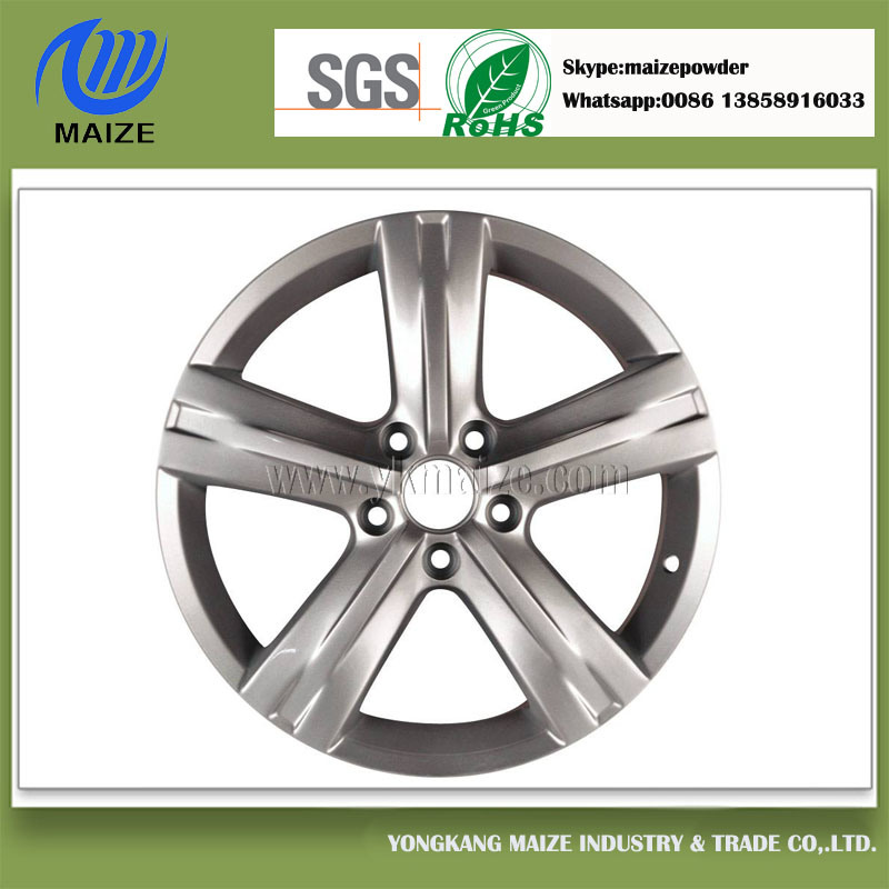 Silver Plastic Powder for Wheel Hub