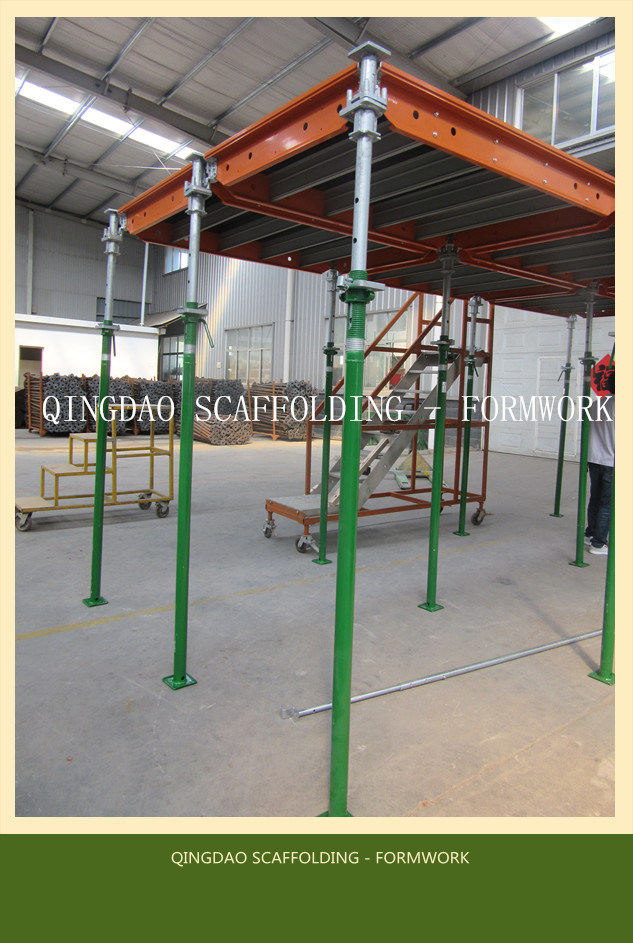 Steel /Aluminium Concrete Construction Formwork with Early Stripping Mechinism