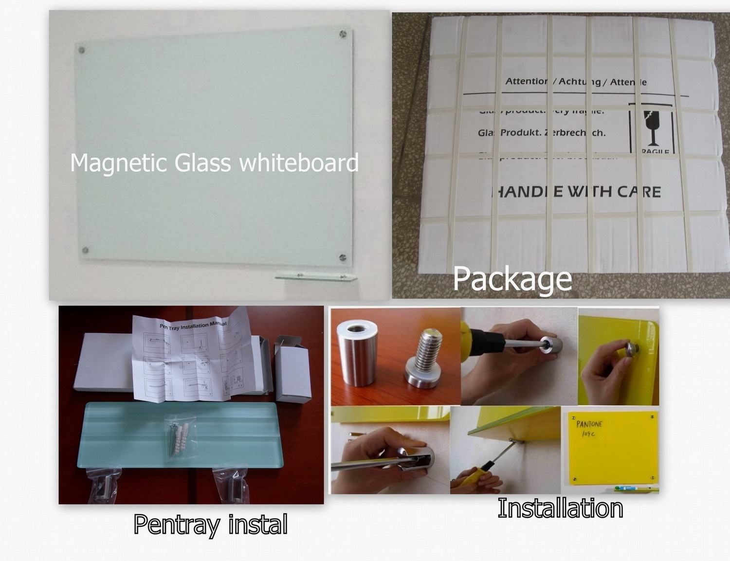Durable Glass Writing Board