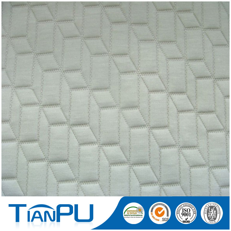 Customized Pattern Flame Retarded Anti-Pilling Matttress Ticking Fabric-85 Inch