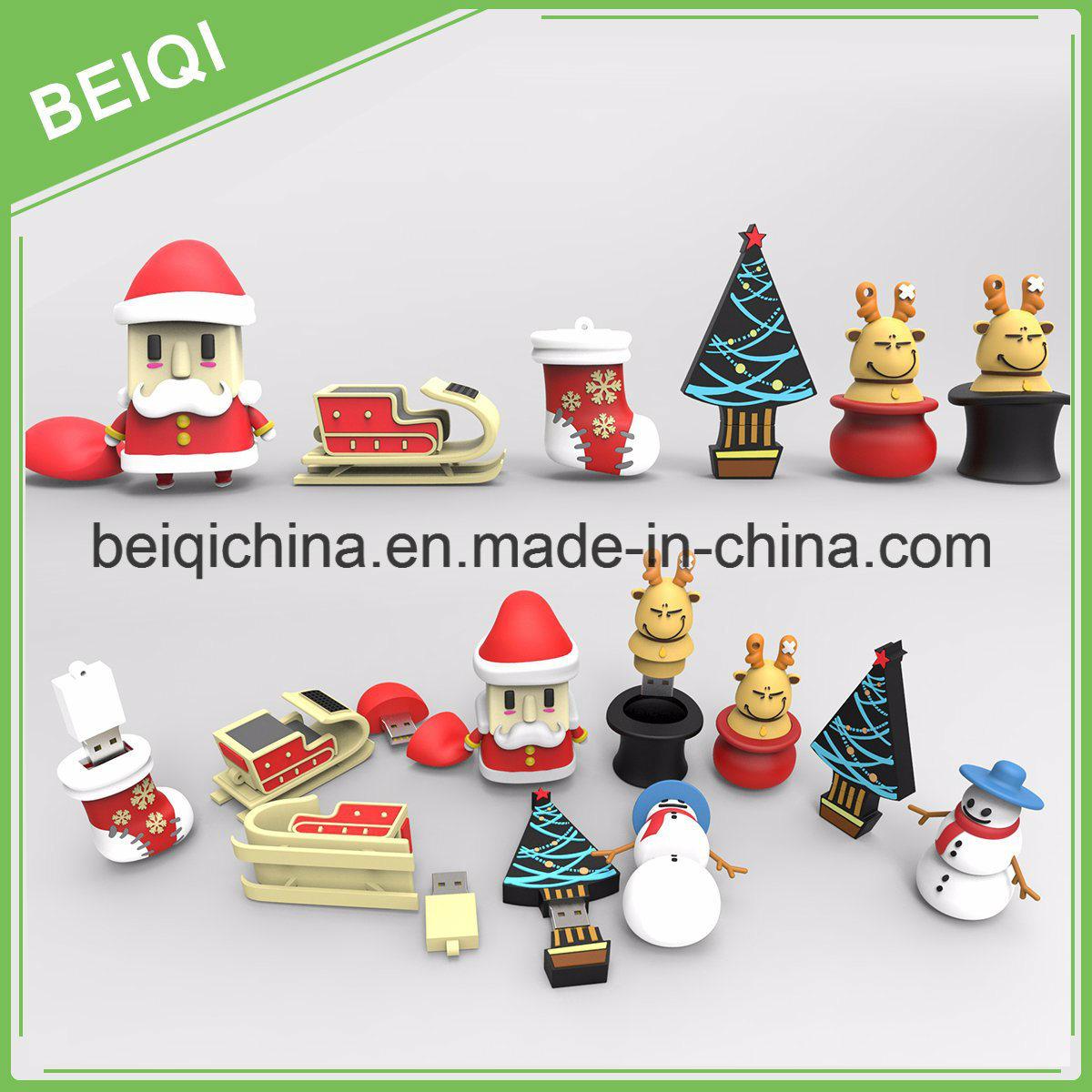 Custom USB Flash Drive for Christmas Gift
