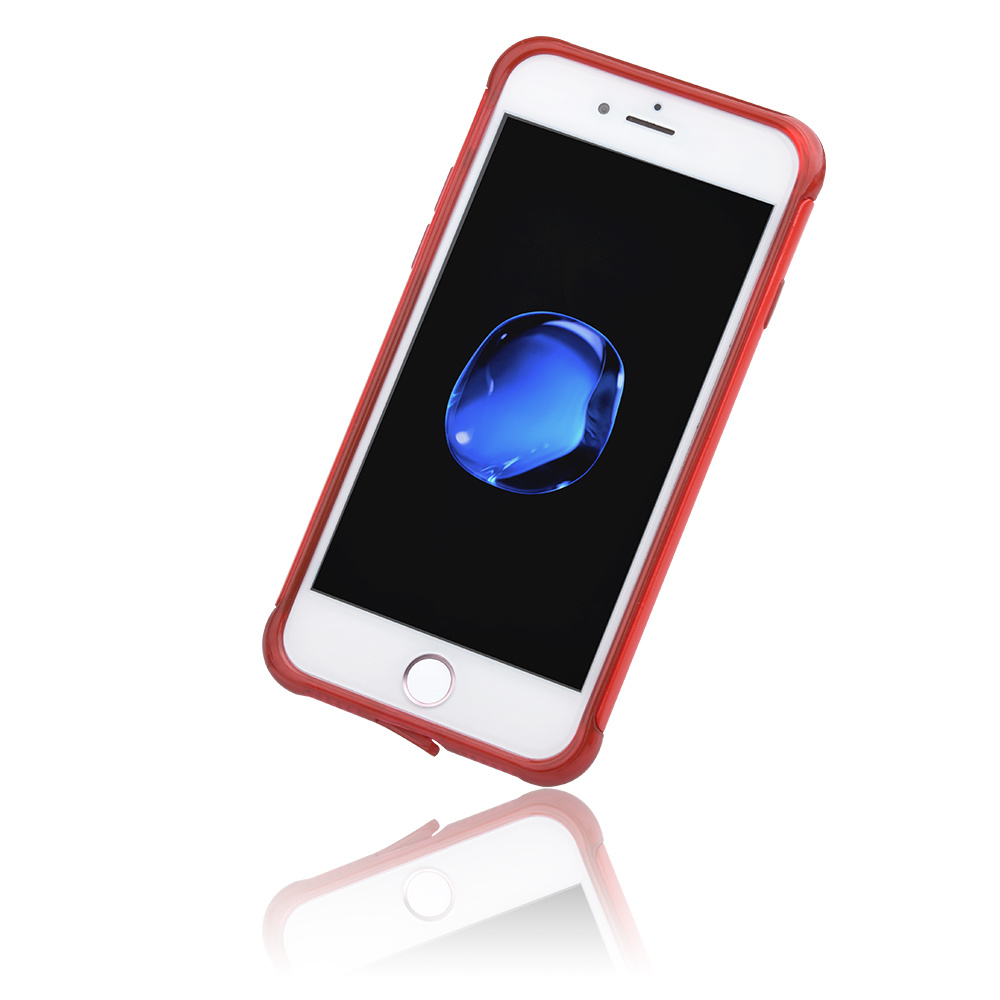 C&T Slim Case Lightweight Cover Thin Fit Protective Shell Flexible Shock Absorbing Soft Rubber Bumper Case for Apple iPhone 7